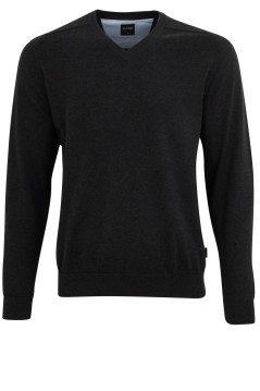 OLYMP pullover antraciet