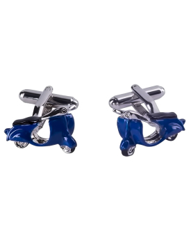 Manchetknopen Profuomo Royal Blue scooter