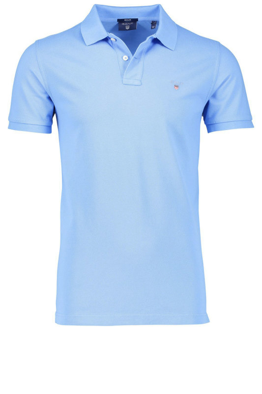 Gant polo Pacific Blue piqué
