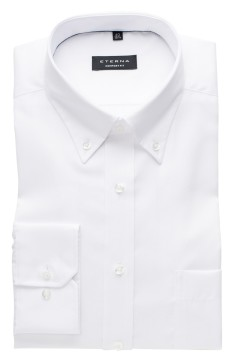 Eterna overhemd Comfort Fit wit button-down
