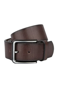 Riem Lindenmann open edged donkerbruin