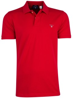 Gant poloshirt rood regular fit