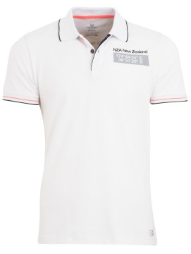 New Zealand polo Clarke wit