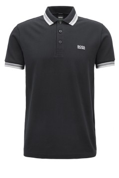 Hugo Boss poloshirt Baddy zwart Big & Tall