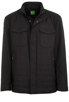 Hugo Boss jack B-Joviro zwart Big & Tall