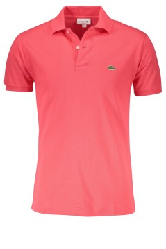 Classic Fit Lacoste polo koraal