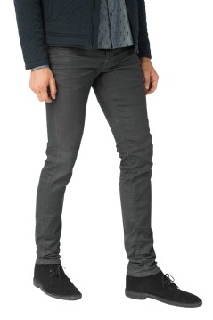 Vanguard V8 Racer jeans double clean grey
