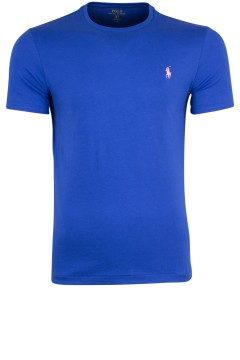 Ralph Lauren custom fit t-shirt blauw