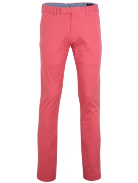 Ralph Lauren slim fit broek koraal