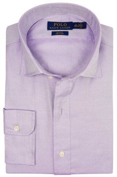 Ralph Lauren slim fit hemd lila two ply