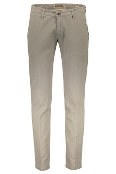 Four.ten Industry chino beige motief slim fit
