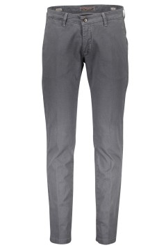 Four.ten Industry pantalon grijs motief slim fit