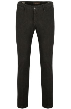 Four.ten Industry chino slim fit donkergroen