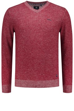 New Zealand pullover Aongatete rood melange