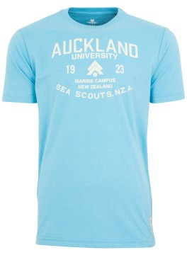 New Zealand t-shirt Stillwater lichtblauw