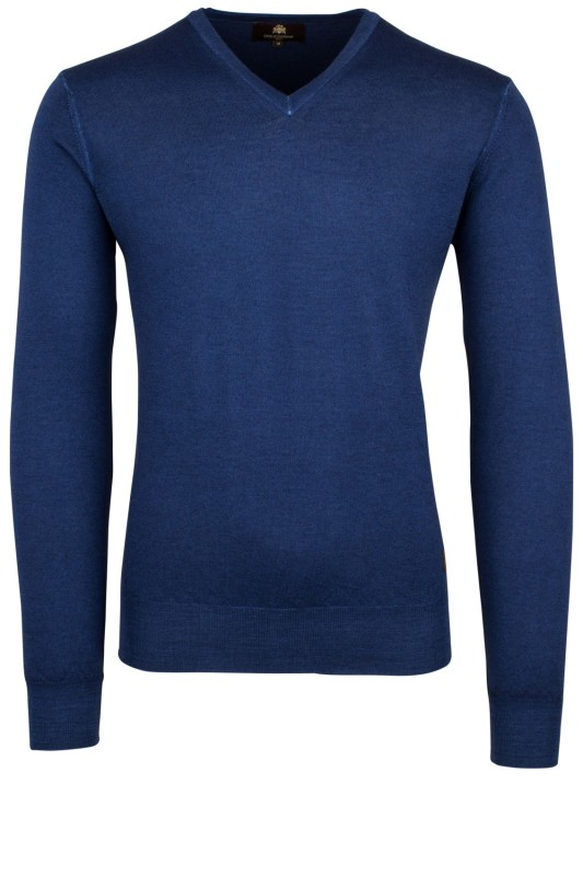 Circle of Gentlemen Magar pullover blauw wol