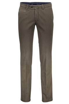 Portofino slim fit pantalon groen