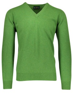 Alan Paine pullover groen lamswol