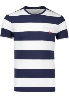 Ralph Lauren t-shirt custom slim fit navy wit