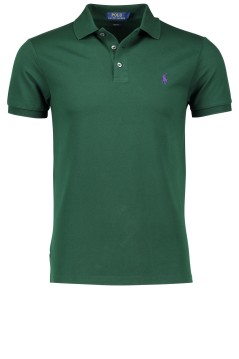 Ralph Lauren polo groen slim fit logo