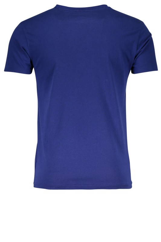 Ralph Lauren t-shirt blauw custom slim fit