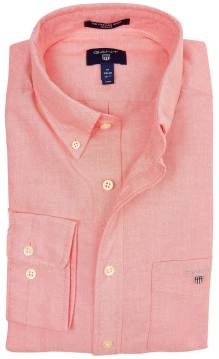 Gant Oxford overhemd koraal regular fit