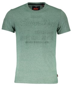 Superdry T-shirt groen Vintage Authentic Embossed