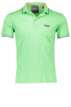 Superdry poloshirt groen city fit