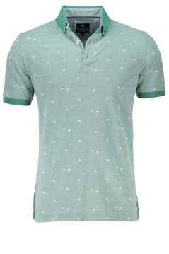 Baileys polo groen motief button down