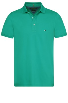 Tommy Hilfiger polo slim fit groen