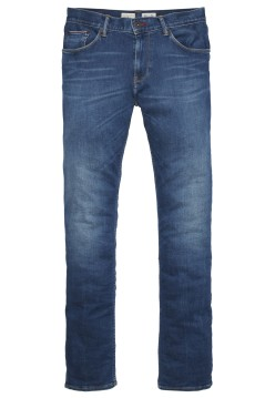 Tommy Hilfiger faded slim fit jeans blauw Bleecker