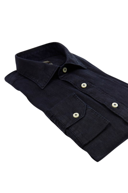 Napapijri casual shirt slim fit navy