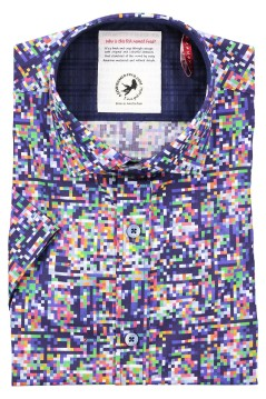A Fish Named Fred shirt korte mouw multicolor