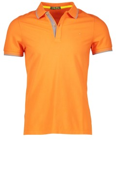 Shockly polo oranje met logo