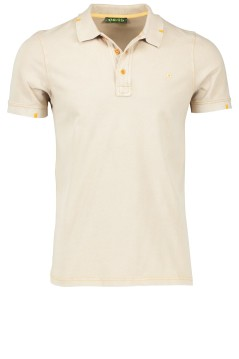 Shockly beige polo korte mouw