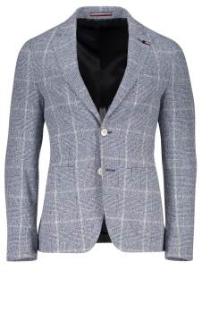 Tommy Hilfiger Tailored colbert blauw blokruit