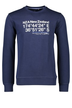NZA sweater Carrick ronde hals navy