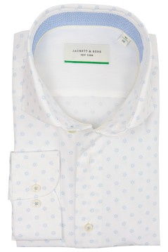 Jackett & Sons shirt met motief wit