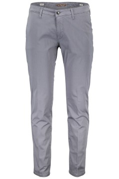 Four.ten Industry chino slim fit grijs