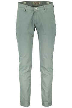Four.ten Industry chino slim fit groen