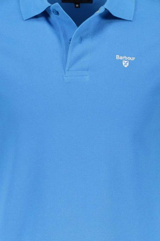 Barbour Sports poloshirt blauw