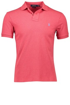 Ralph Lauren slim fit polo koraal