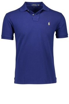 Ralph Lauren slim fit polo koningsblauw