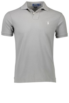 Ralph Lauren grijze polo slim fit