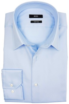 Hugo Boss shirt lichtblauw regular fit