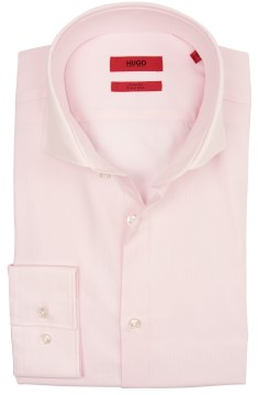 Hugo Boss overhemd roze slim fit