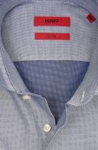 Hugo Boss shirt mouwlengte 7 navy