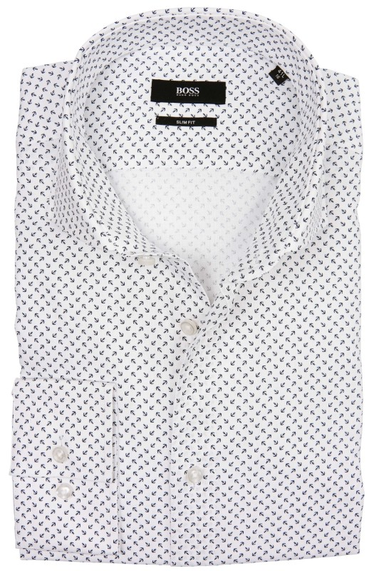 Shirt Hugo Boss mouwlengte 7 slim fit