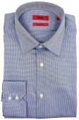 Hugo Boss shirt blauw regular fit