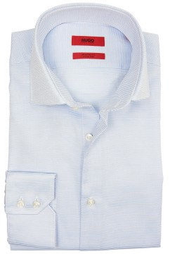 Hugo Boss regular fit shirt lichtblauw